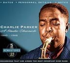 """A Studio Chronicle 1940-1948,"" by Charlie Parker"