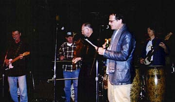 Jim Jacobi, Steve Blazek, Dave Fowler, Charlie Bu rton and Craig Kingery (Photo by Rich Hoover)