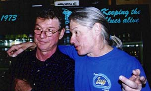 Jim Jacobi and Dave Robel (Photo by Butch Berman)
