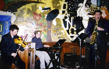 The Rob Scheps-Zack Brock Quintet performed Jan. 22 at PO Pears. [Photo by Tom Ineck]