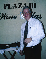Derald Kirklin, manager of Plaza III [Photo by Butch Berman]