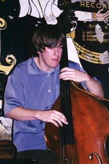 Bassist Matt Ullery [Photo by Rich Hoover]
