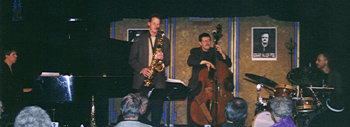 The Doug Talley Quartet [Photo by Rich Hoover]