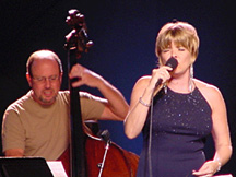 Karrin Allyson with bassist Bob Bowman [Courtesy Photo]