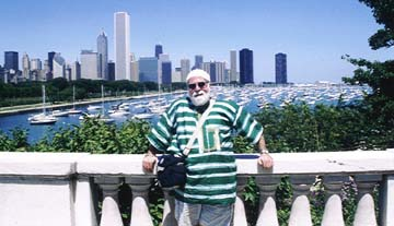 Butch on the Chicago waterfront in 2003 [File Photo]