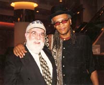 Butch Berman and Bobby Watson at the 2005 Topeka Jazz Festival [File Photo]