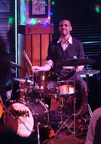 Drummer Adam Cruz [Photo by John Nollendorfs]