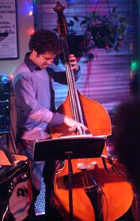 Bassist Orlando Le Fleming is featured [Photo by John Nollendorfs]