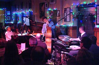 The Joey Calderazzo Trio Dec. 5 at Murry's in Columbia [Photo by John Nollendorfs]