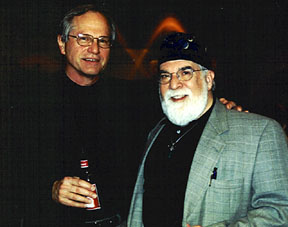 Doug Campbell and Butch Berman [Photo by Rich Hoover]