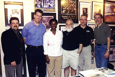 Tony Rager, Rob Seitz, Grace and Butch, Mark Radziejeski and Tom Ineck [Photo by Rich Hoover]