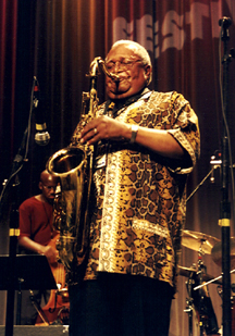 Ahmad Alaadeen at the 2005 Topeka Jazz Festival [File Photo]