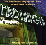"""Live at Harlings Upstairs,"" by The Boulevard Big Band"