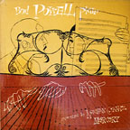 """Bud Powell Piano,"" cover by David Stone Martin"