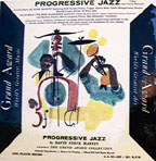 """Progressive Jazz,"" cover by David Stone Martin"