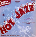 "Sarah Vaughan's ""Hot Jazz,"" cover by unknown artist"