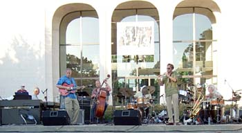 Project Omaha at 2009 Jazz in June [Photo by Tom Ineck]