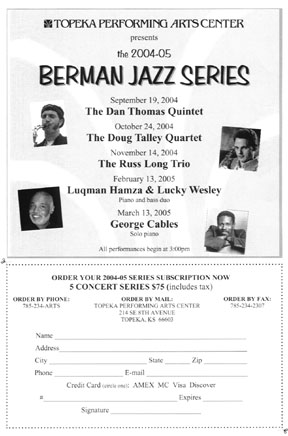 Berman Jazz Series