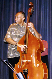 Bassist John Clayton [Photo by Tom Ineck]