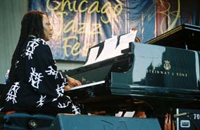 AACM pianist Amina Claudine Myers [Photo by Tom Ineck]